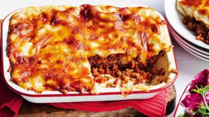 lasagna recipe with ricotta cheese