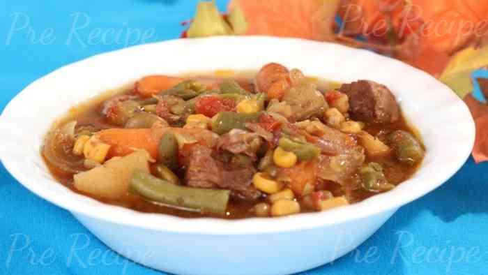 beef stew recipe crock pot
