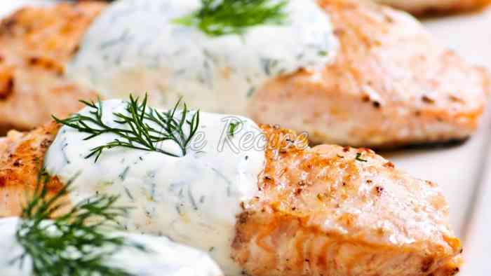cooking salmon in the oven