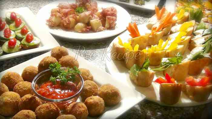 easy appetizers for a crowd