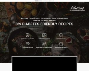 Delicious Ultimate Diabetic Recipes - 369 recipes with guides and bonuses