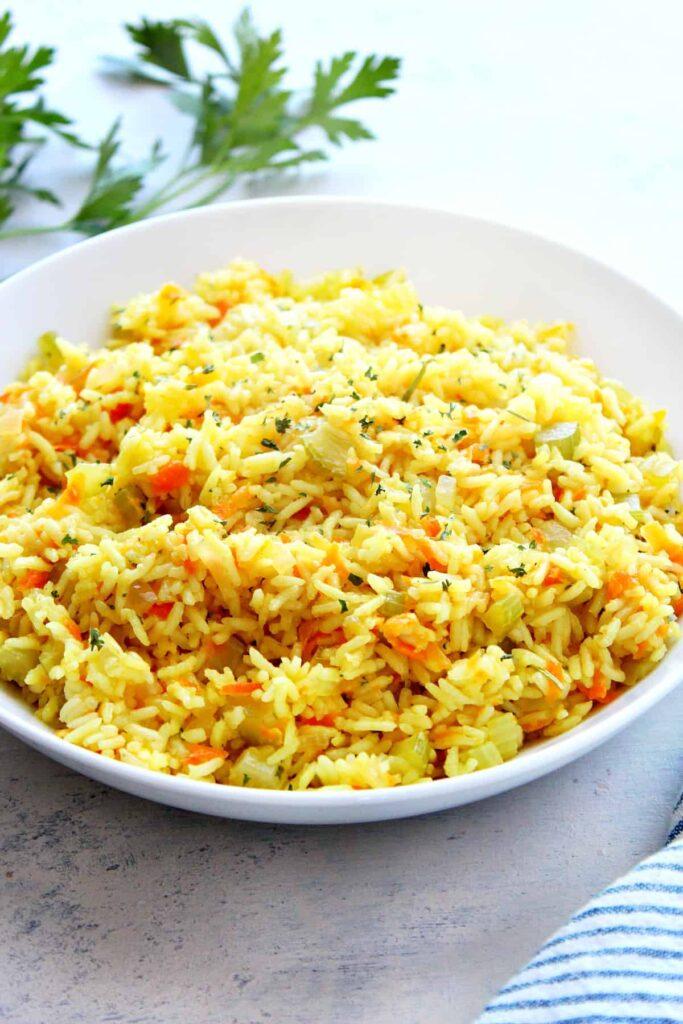 rice pilaf C Rice Pilaf Recipe